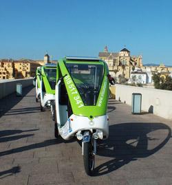 Paseos en triciclos Luban