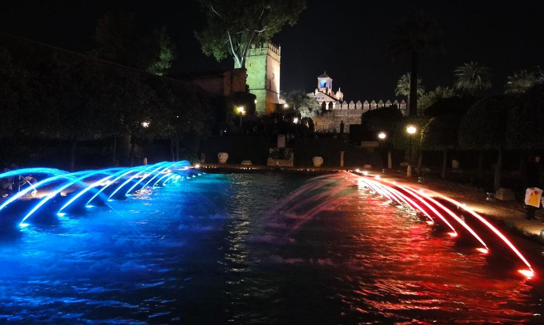Noches Mágicas en el Alcázar - Espectáculo de agua, luz y sonido (Córdoba - España)