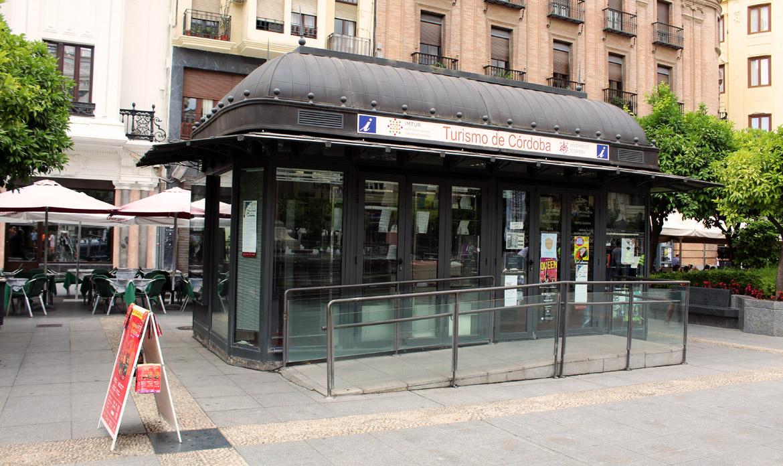 Punto de Información Turística de la Plaza de las Tendillas (Córdoba - España)