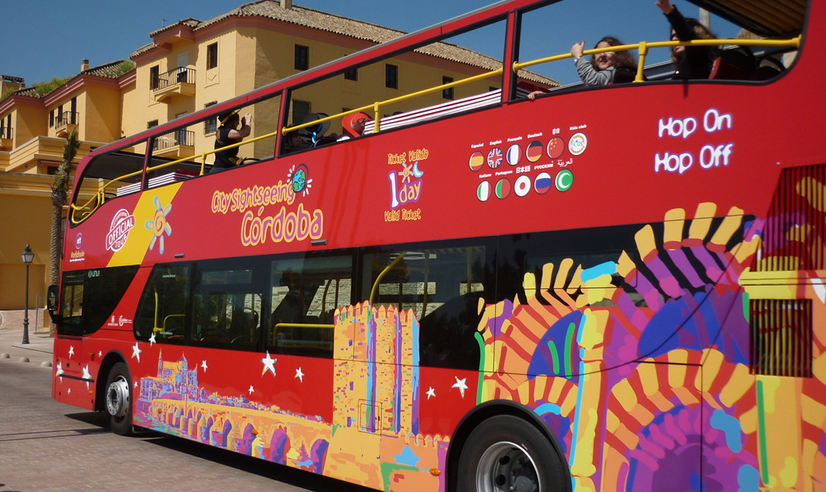 City Sightseeing Cordoba tourist bus (Spain)