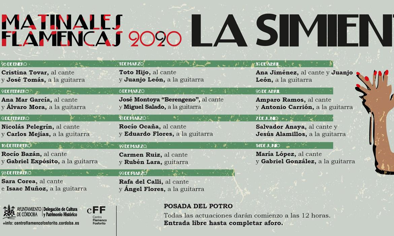 Matinales Flamencas 2020 (Córdoba - España)