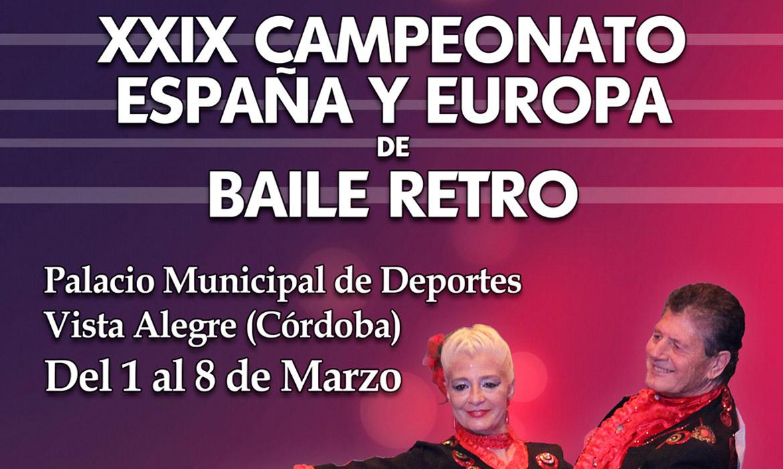 XXIX Campeonato España y Europa de Baile Retro (Córdoba - España)