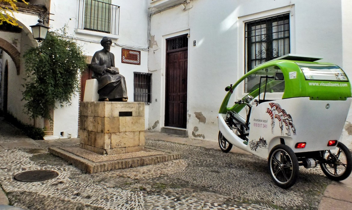Cordoba by tricycle (Spain)