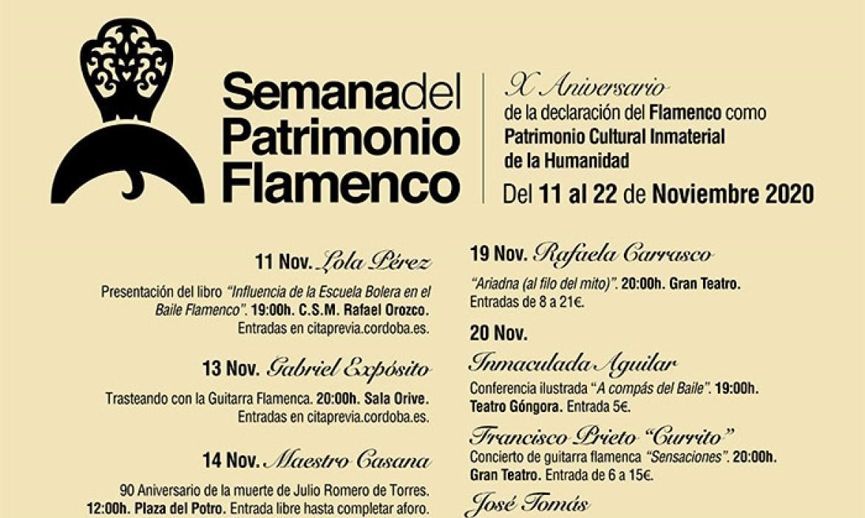 Semana del Patrimonio Flamenco 2020 (Córdoba - España)