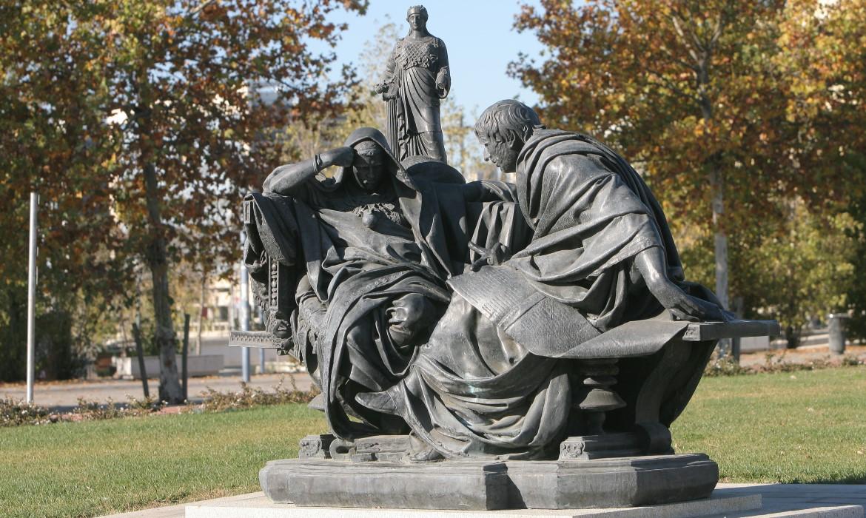 Conjunto escultórico a Educación de Nerón (Córdoba - España)