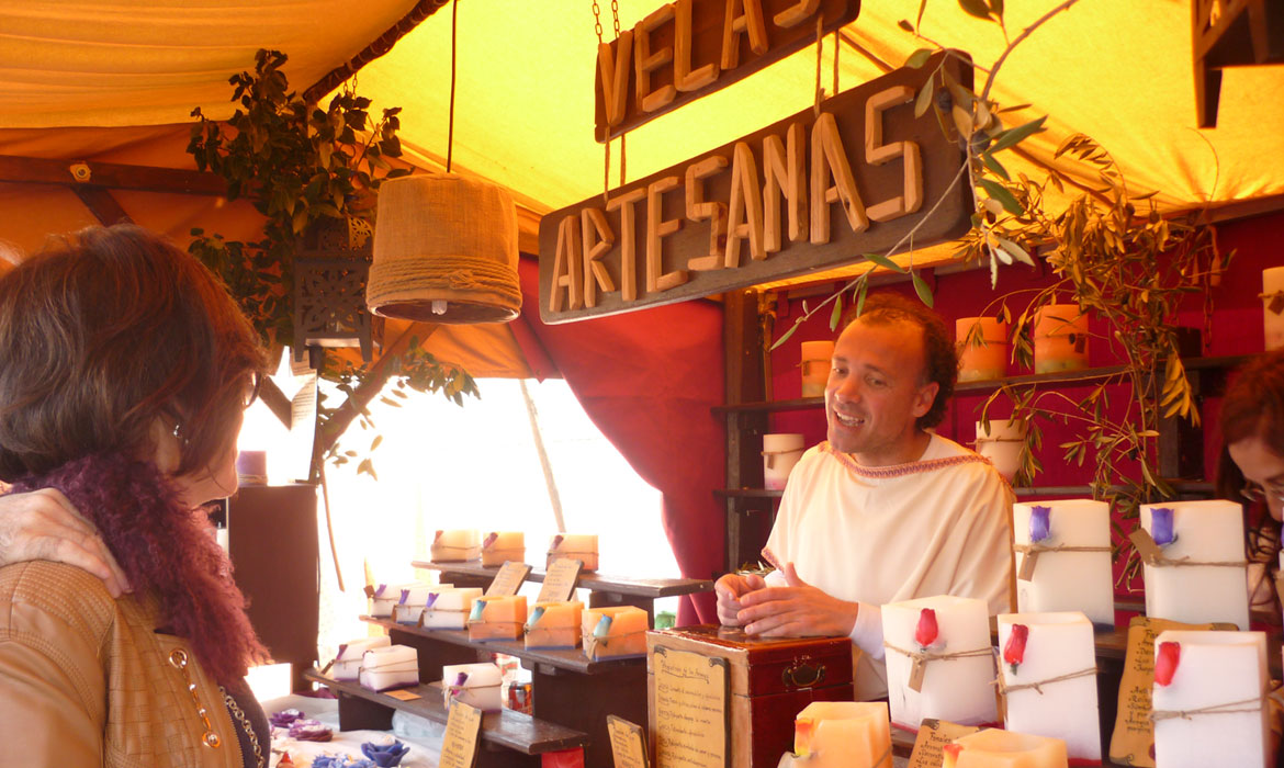 Cordoba of the three cultures Market (Spain)